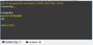 Console-RDM-FLUSHALL